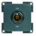 CBE 12 VOLT DC DIN SOCKET GREY