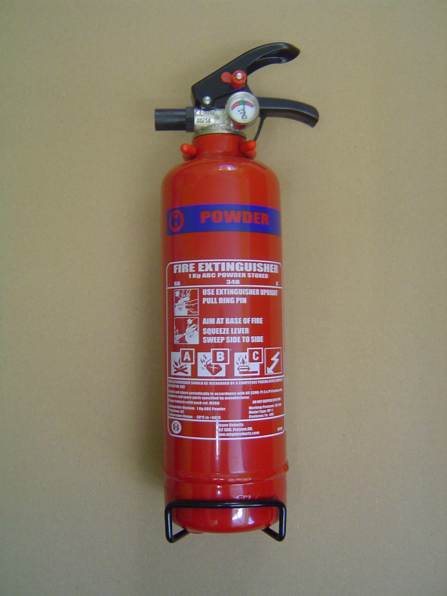 Abc Dry Powder Fire Extinguisher 1 0kg