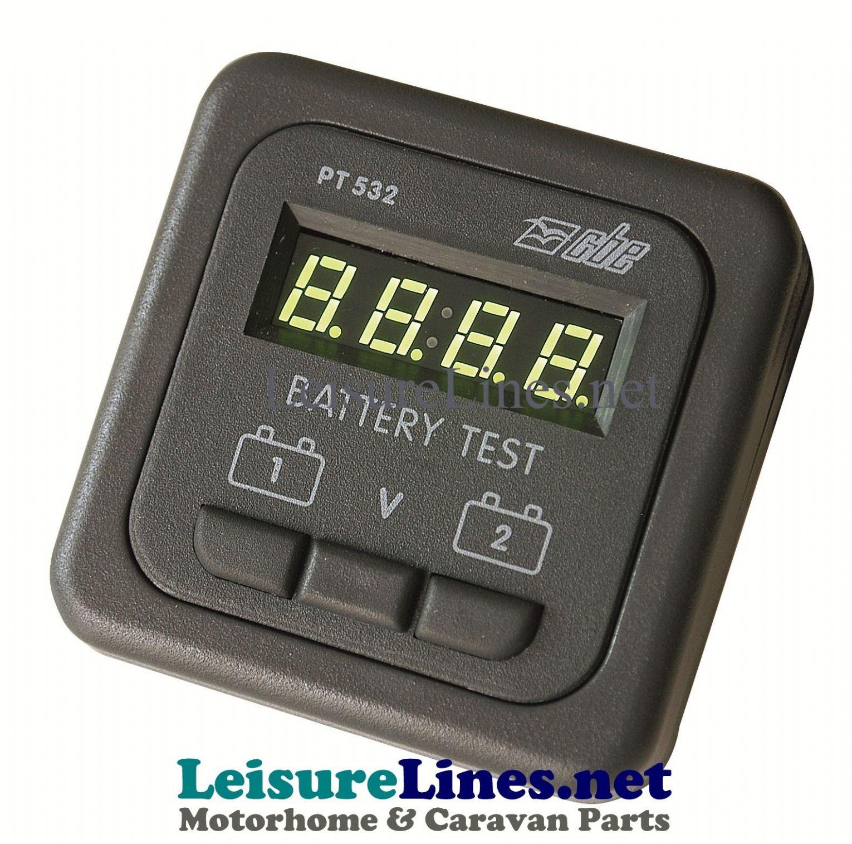 Digital Battery Meter : Cbe digital battery volt meter v for batteries
