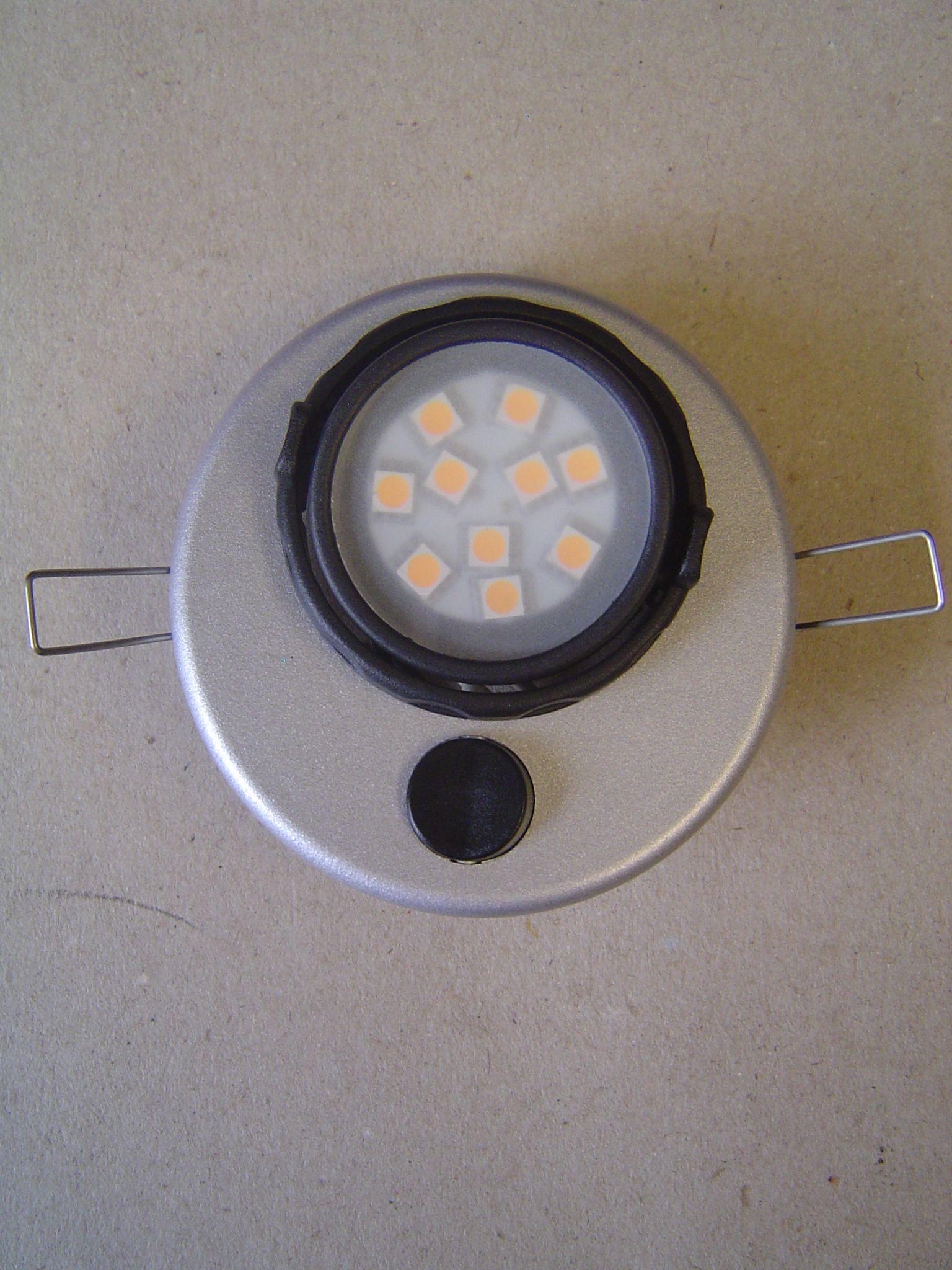 dometic recessed led spotlight l20rm 12v. Black Bedroom Furniture Sets. Home Design Ideas