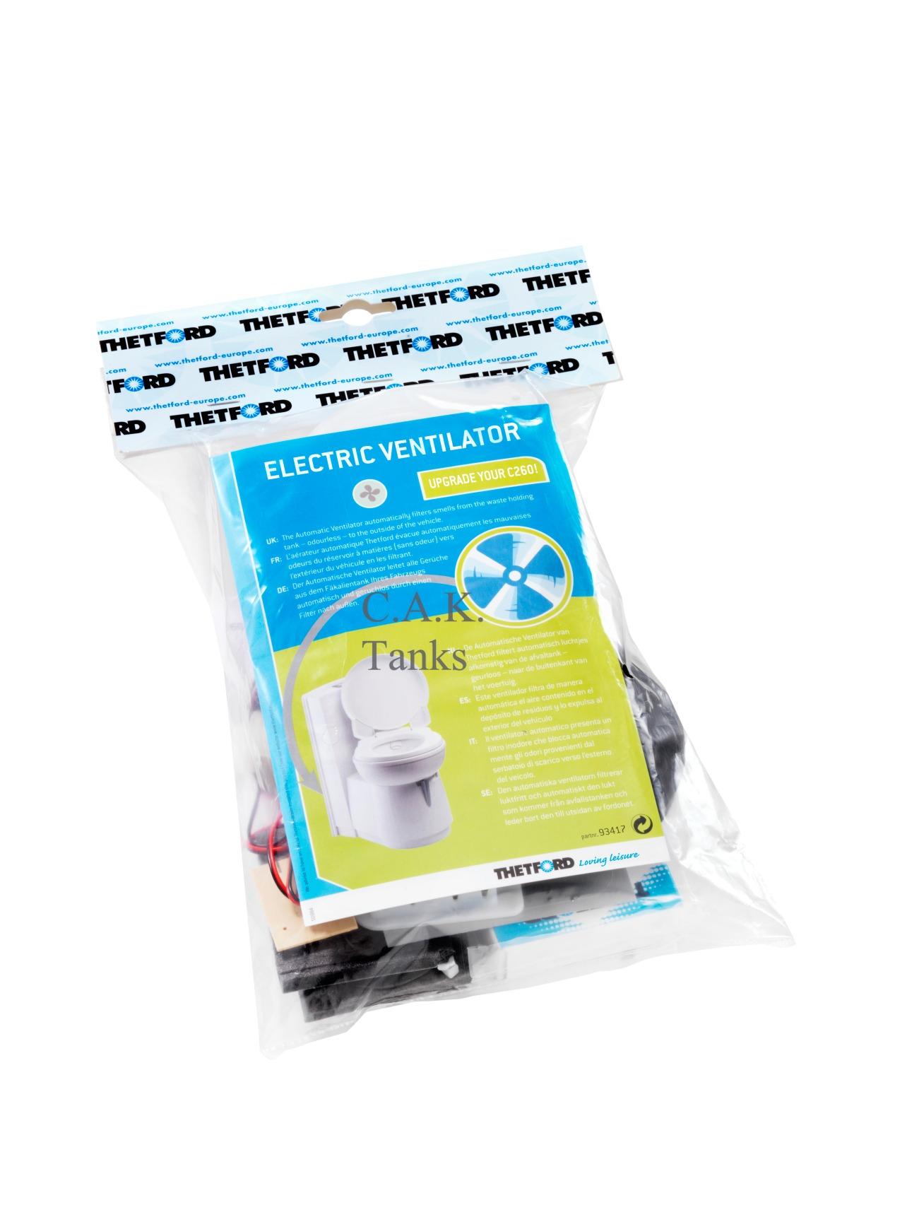 Schema Elettrico Wc Thetford : Option auto fan vent new c thetford cassette toilet