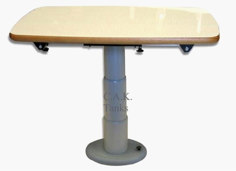 telescopic table support type a manual