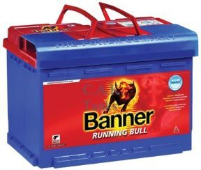 AGM 12V 75Ah BANNER RUNNING BULL LEISURE BATTERY