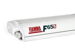 F65S 290 AWNING White Case Royal GREY Fabric Fiamma