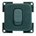CBE SINGLE ON OFF ROCKER SWITCH GREY
